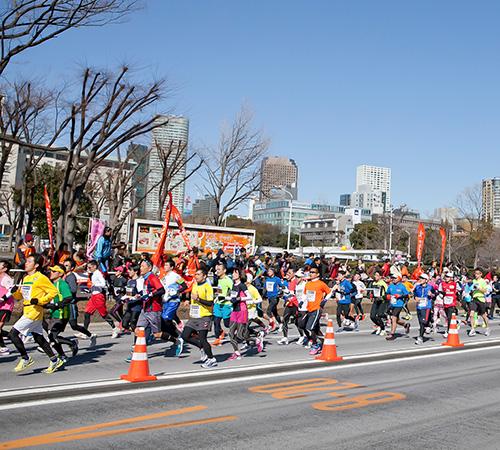 マラソン大会のイメージ